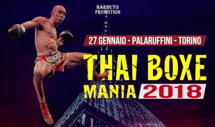 Thai boxe mania 2018 Hotel a Torino