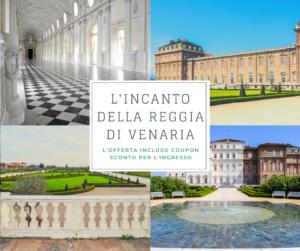 Hotel Miramonti Torino coupon sconto ingresso Reggia di Venaria Reale